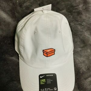 New Nike JDI Just Do It Dad Hat YOUTH orange box